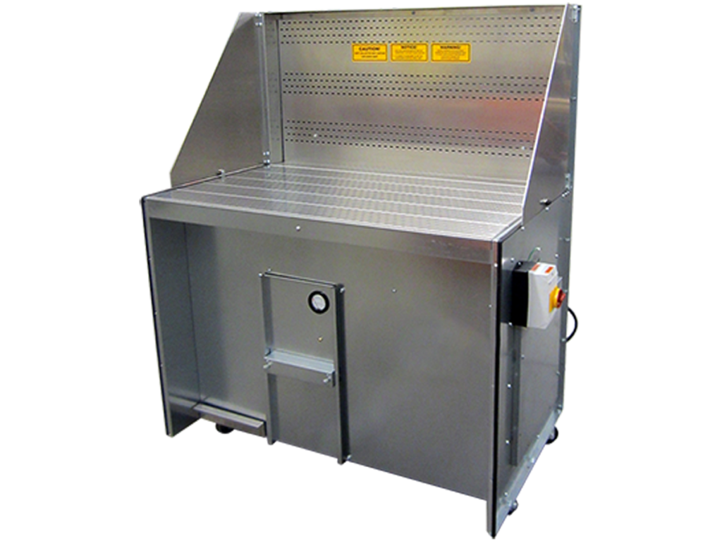 dry downdraft bench