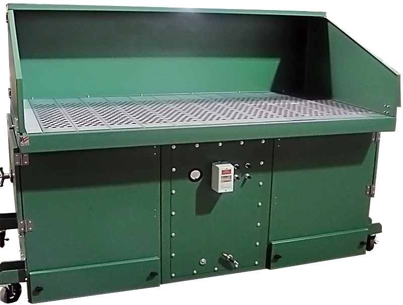 APB self-cleaning downdraft table product photo