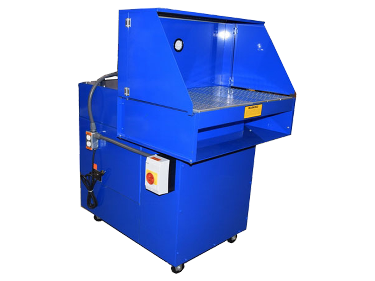 Featured portable downdraft table image