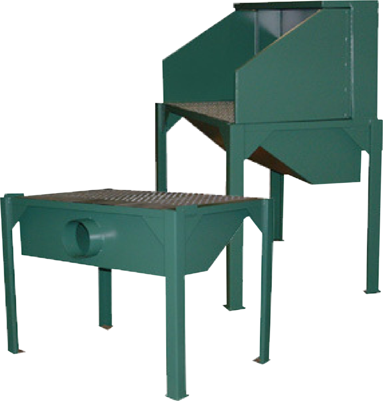remote ducted downdraft bench product photo
